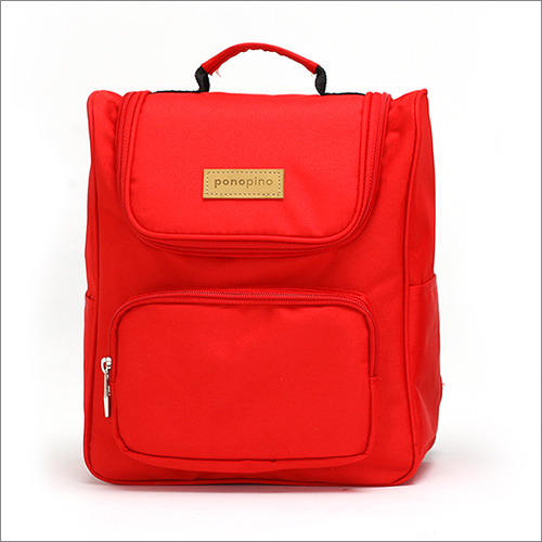 Ponopino baby back bag-Prench Red