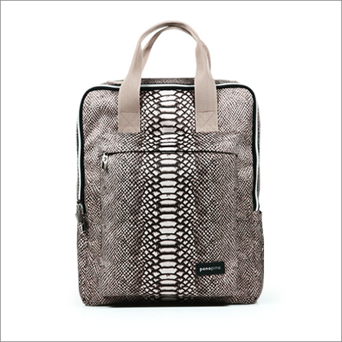 Caron Back Pack-Dark brown
