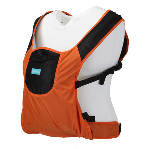Mombuka baby carrier orange