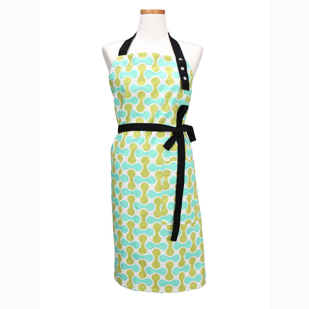kinbli apron basic type_Green nuts