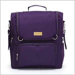 Ponopino diaper bag-Romantic Purple
